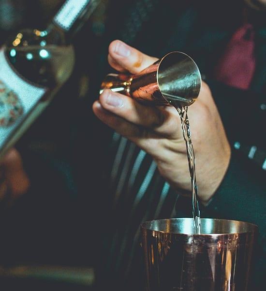 Bartender and cocktail from ZubarDubar
