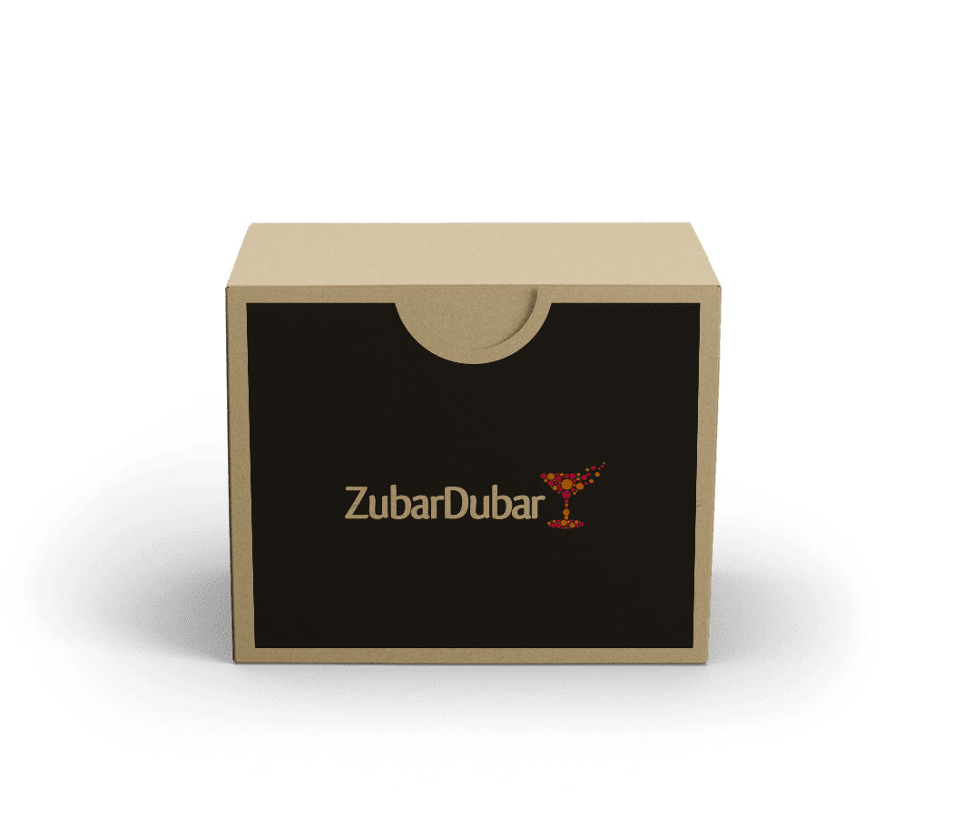 Cocktail kit for virtual cocktail course by ZubarDubar