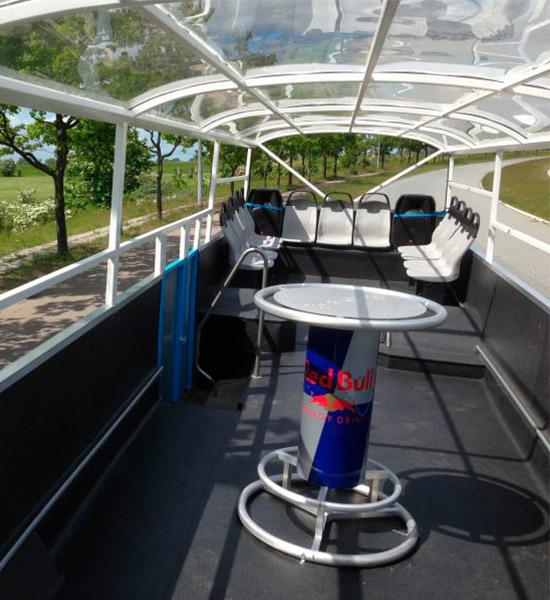 Fri bar - Få cocktails ombord på busturen - Åben nus