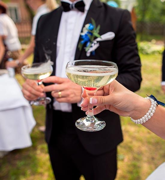 Bedste drinks til bryllup