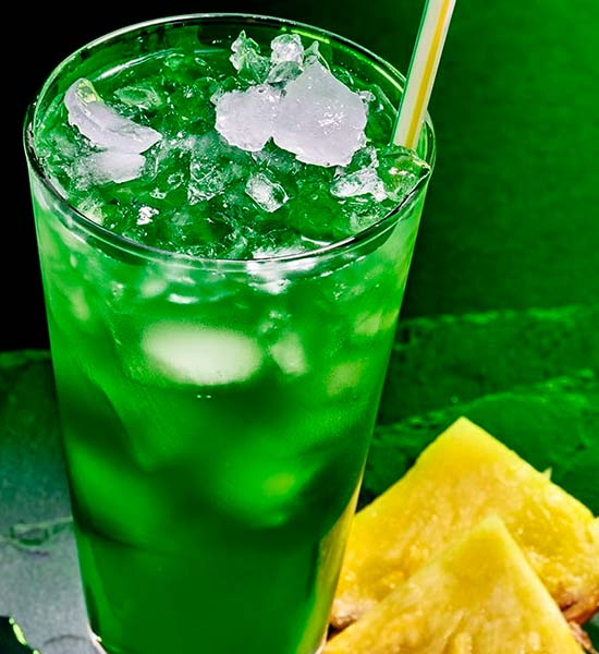 Grøn og simpel drink