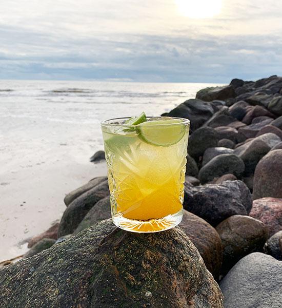 Cocktail - Gin Hass - Original Gin Hass opskrift
