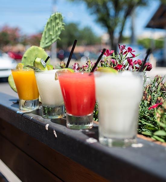 Flere varianter af Filur drink