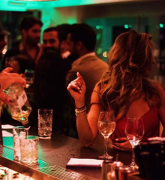 Fredagsbar med professionel bartender