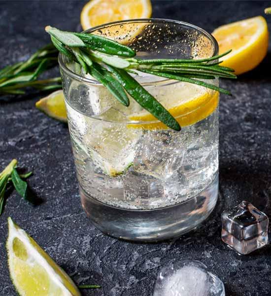 Alkoholfri Gin and Tonic