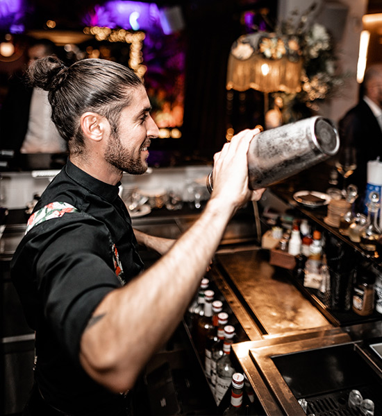 Hire a bartender for a company party
