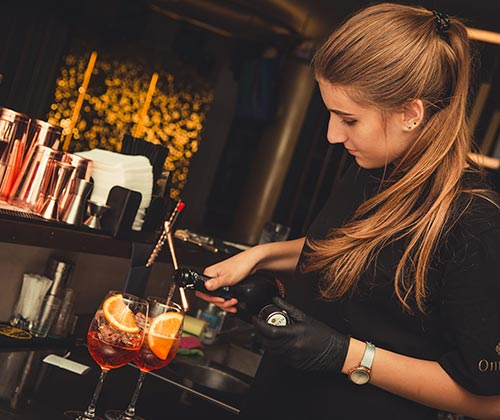 Lej professionelle bartendere i hele landet