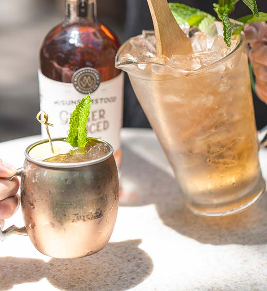 Variations of Moscow Mule