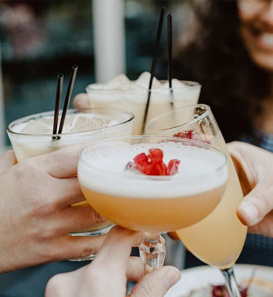 Valgfrie cocktails