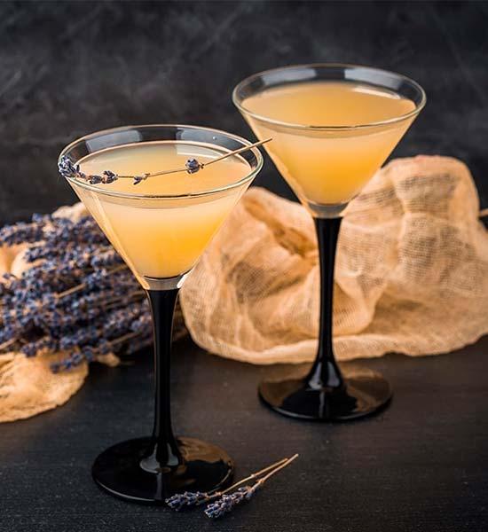 Between the Sheets som en variation af cocktailen