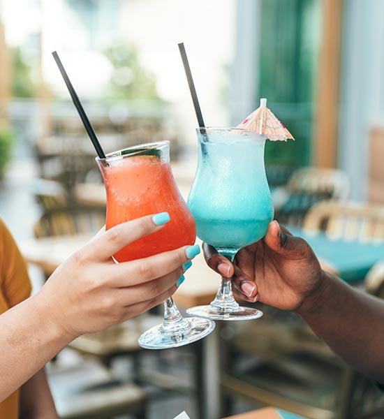 Cocktails ad libitum til studentergilde